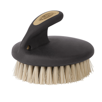 Palm-Held Face Brush with Soft Bristles