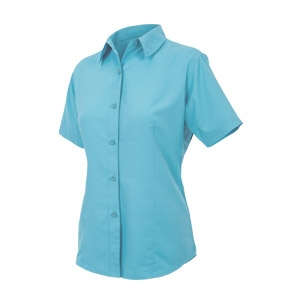 GameGuard Outdoors® Ladies' River Blue MicroFiber Shirt