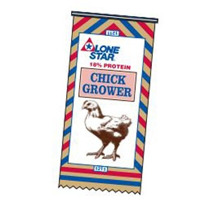 Lone Star® 18% Chick Grower Crumbles