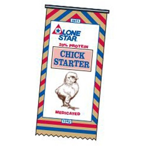 Lone Star® 20% Chick Starter Medicated Crumbles