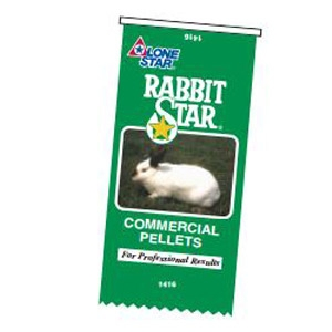 Lone Star® Rabbit Star® Commercial Pellets