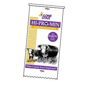 Lone Star® 14% Hi-Pro-Min Pasture Supplement with Rabon®