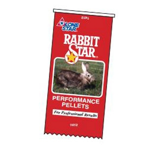 Lone Star® Rabbit Star® Performance Pellets