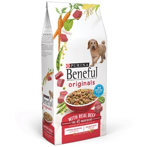 Beneful® Dry Dog Food Originals with Real Beef