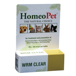 HomeoPet® WRM Clear - Nature's Gentle Relief from Worms