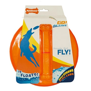 Nylabone Go! Active Flying Disk Dog Toy