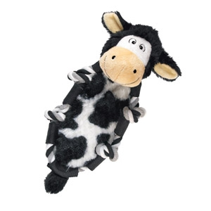 Kong® Barnyard Knots Cow Dog Toy