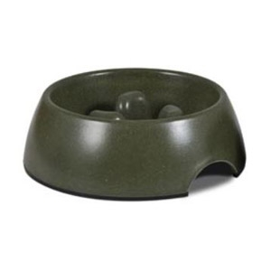 Petmate® Bamboo Slow Feed Bowl