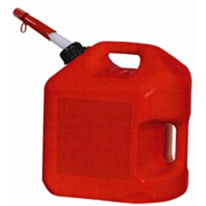 Spill Proof 5-Gallon Poly Gas Can