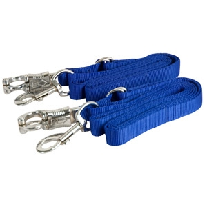 Gatsby Adjustable Nylon Crossties with Panic Snap
