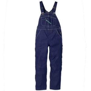 Key® Prewashed Men's Blue Overall