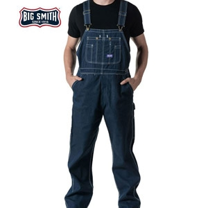 Walls® Big Smith® Rigid Denim Bib Overall