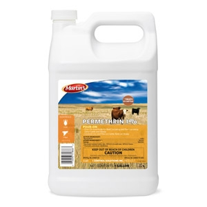 Martin's® Permethrin 1% Pour-On Insecticide for Cattle
