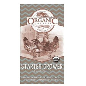 Organic Harvest 22% Organic Broiler Start to Finish Crumbles