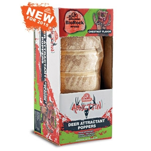 BioRock® Chestnut Addiction Poppers Deer Attractant