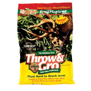 Evolved Harvest® Throw & Gro™ No-Till Forage Deer Attractant