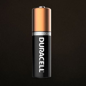 6-volt Duracell® Coppertop Alkaline Battery