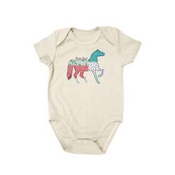 Newborn Farm Girl® Multi Pattern Horse Creeper
