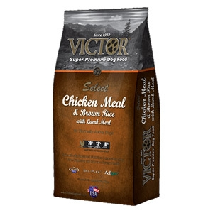 Victor Select Chicken Meal & Brown Rice Lamb Meal Dog Food