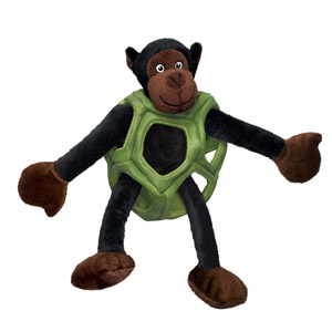 Puzzlements Monkey Dog Toy