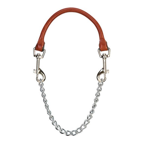 Leather/Chain Goat Collar