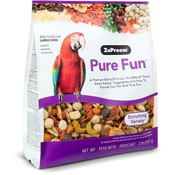 ZuPreem® Pure Fun™ Bird Food for Large Birds