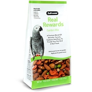 ZuPreem® Real Rewards™ Garden Mix Treats for Large Birds