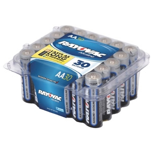 Rayovac® Alkaline 30-pack AA Batteries