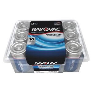 Rayovac® Pro Pack 12-pack D Batteries