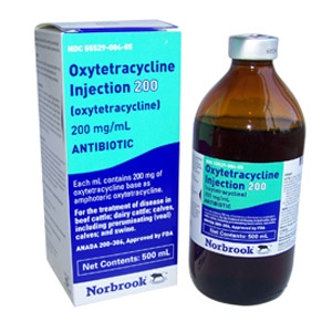 Norbrook® Oxytetracycline Injection 200 for Cattle & Swine 100ml