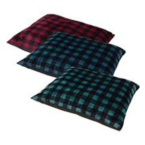 Buffalo Plaid Knife Edge Pet Bed