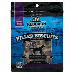 Redbarn® Chewy Louie Peanut Butter Filled Biscuits