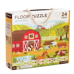 Petitcollage® On the Farm Floor Puzzle