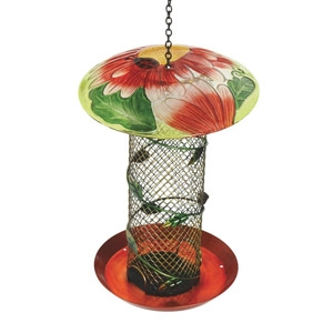 Best Garden Glass Tube Bird Feeder