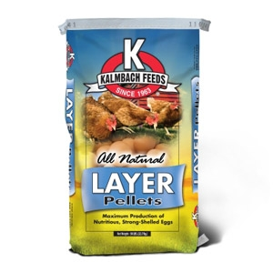 Kalmbach® All Natural Layer Pellets