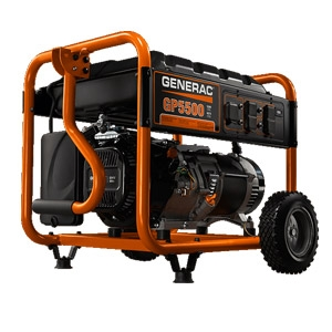 Generac® GP Series 5500 Portable Generator