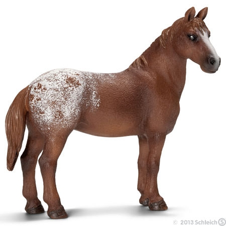 Appaloose Mare Mini Figure