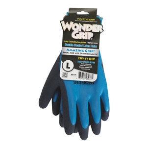 Wonder Grip® Double-Dipped Latex Garden Glove - Large