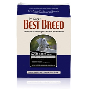 Dr. Gary's Best Breed Large Breed Dog Diet