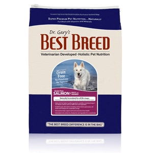 Dr. Gary's Best Breed GF Salmon with Fruits & Vegetables Dog Diet
