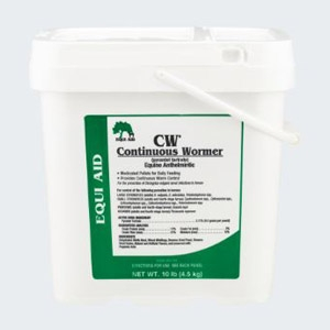 Equi Aid CW® Continuous Wormer for Horses