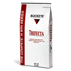 Buckeye® Trifecta® Pelleted Horse Feed
