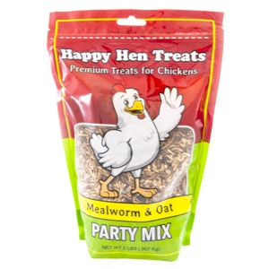 Happy Hen®  Treats Mealworm & Oat Party Mix