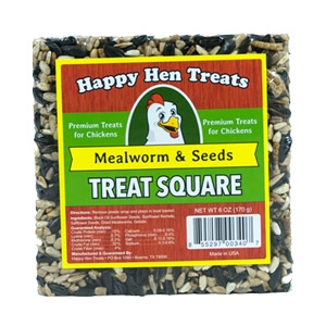 Happy Hen® Treats Mealworm & Seeds Treat Square