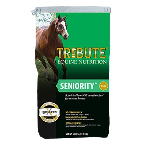 Tribute® Seniority™ Pelleted Horse Feed