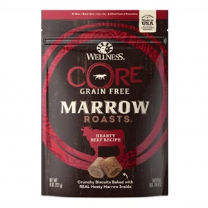 Wellness® Core Grain Free Marrow Roasts Hearty Beef Recipe Dog Treats