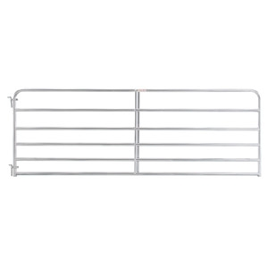 Tarter® 6-Bar Econo Galvanized Tube Gate - 20'