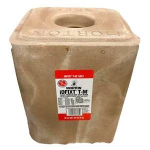 Morton® iOFIXT T-M Trace Mineralized Salt Block