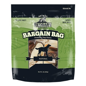 2 lb. Natural Bargain Bag Premium Dog Chews