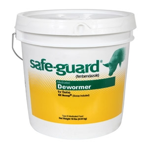 Intvervet® Safe-guard® 1.8% EZ Scoop® Swine Dewormer